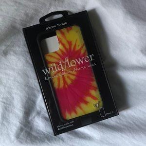 Wildflower Tie-Dye iPhone 11 Phone Case